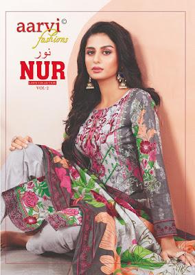 Aarvi Fashion nur vol 2 Pakistani Suits Wholesaler