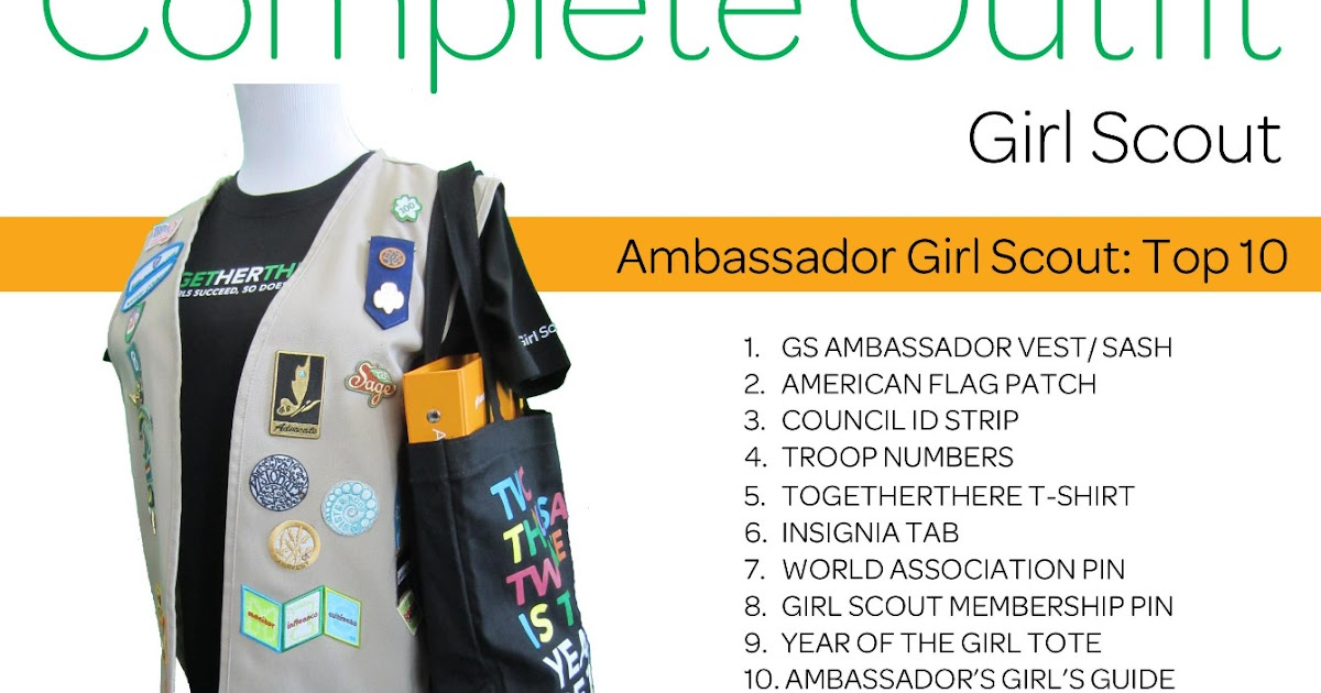 Girl Scouts Of Nassau County The Complete Outfit Series
