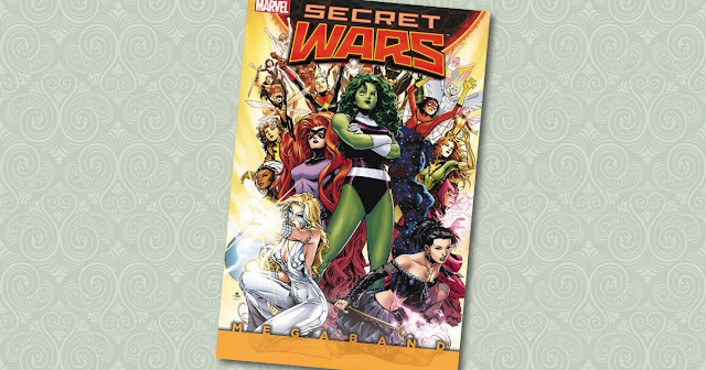 Secret Wars Megaband 1 Panini Cover