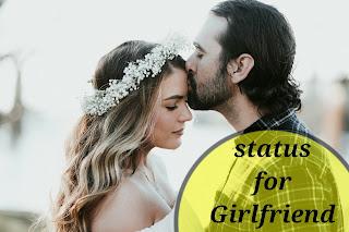 love shayari for girlfriend, lovely status image
