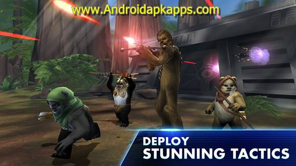 Star War Galaxy of Heroes Apk MOD v0.2.113720 Full OBB Data Latest Version Gratis 2016 Free Download