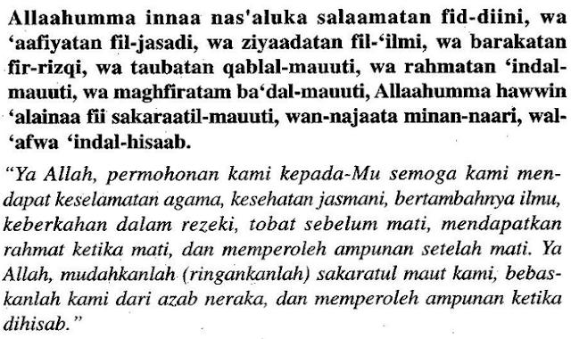 Bacaan Doa Selamat Paling Mudah, Semua Orang Mesti Hafal