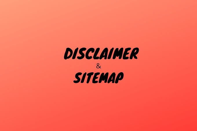 Cara Membuat Halaman Disclaimer Dan Sitemap Dengan Mudah