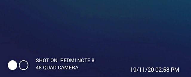 Cara menampilkan shot on kamera di hp