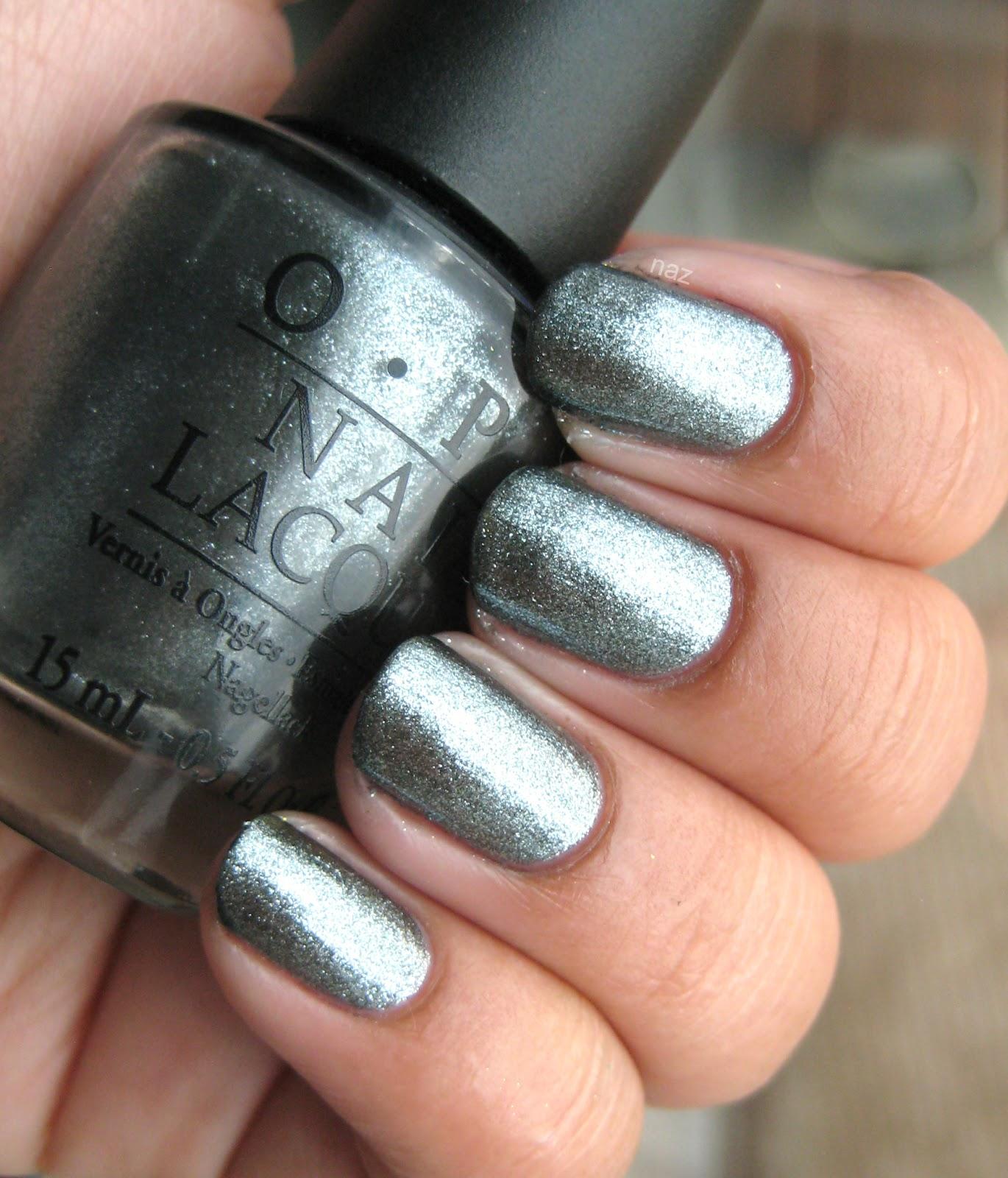 Light Grey Nail Polish Naz's Nails: OPI Lucerne-tainly Look Marvelous