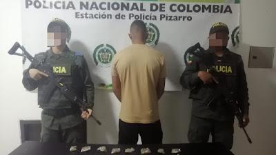 Capturan a un sujeto en Jurado con 32 dosis de Marihuana camufladas en una salchipapa