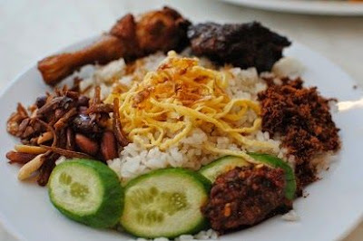 Resep Nasi Uduk dengan magic com Molibagu
