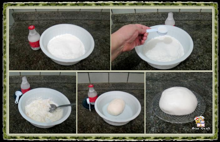 Cupcake de coco com nozes 19