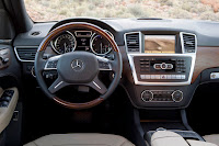 Mercedes-Benz M-Class ML 250 BLUETEC W 166 Interior