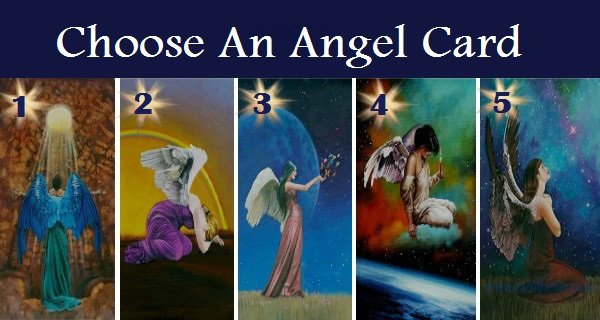 Choose Your Favorite Angel Card To Reveal A Holy Message For You Soul