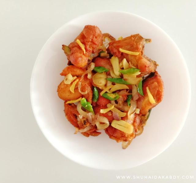 Resepi Ayam Goreng Halia