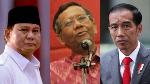 Pilih Jokowi atau Prabowo? Mahfud MD Jawab Begini