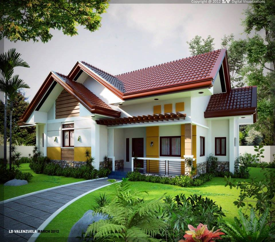Beautiful Home Design: 50 House Designs For Filipino Families