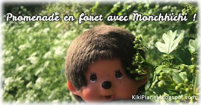 kiki Monchhichi forêt promenade cute kawaii kidult plushie life
