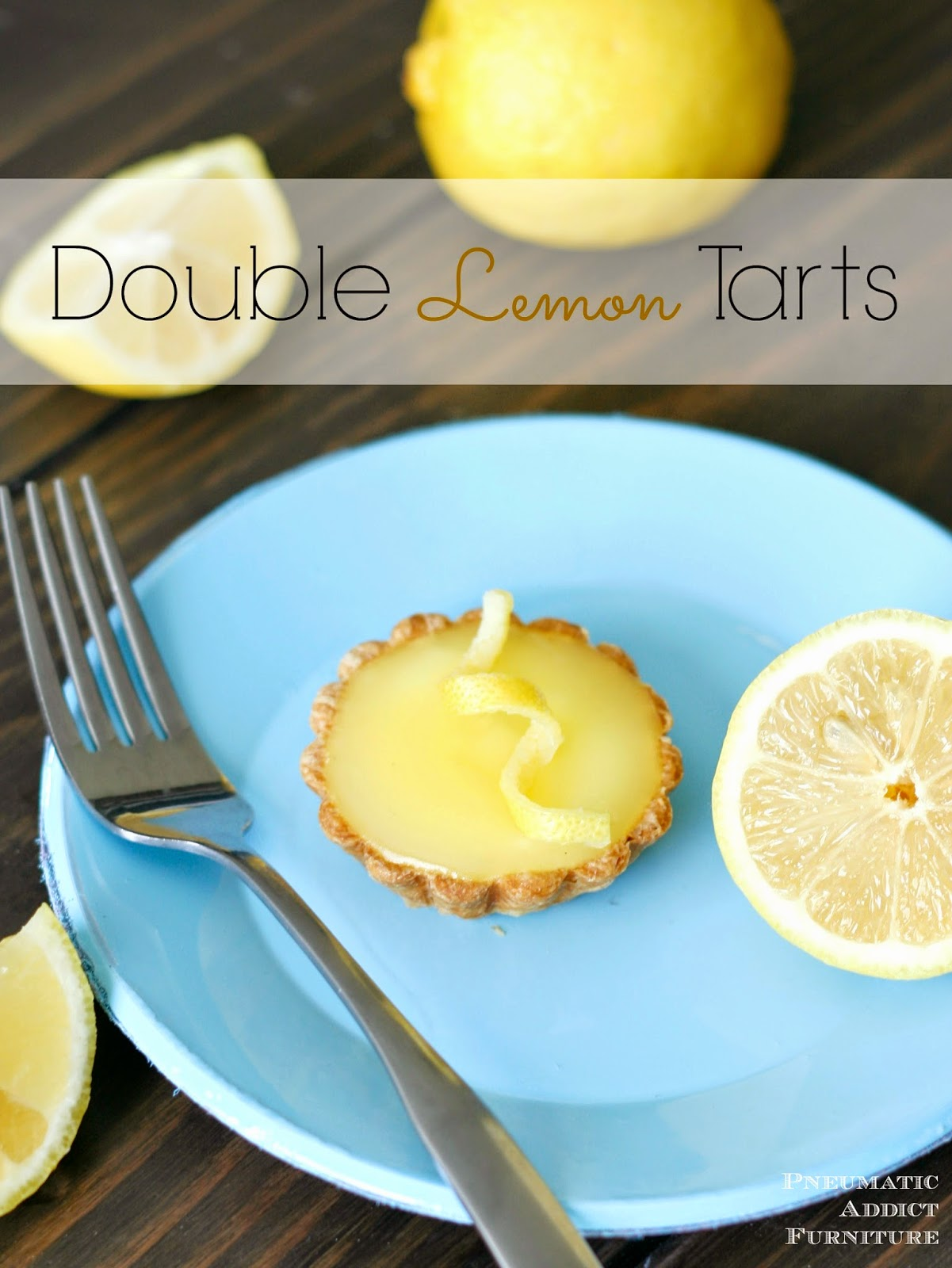 So light and refreshing! Two layers of tangy and sweet lemon filling and a buttery crust.