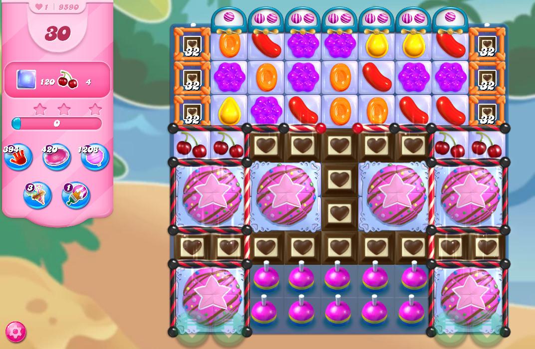 Candy Crush Saga level 9590
