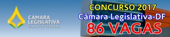 Concurso CLDF 2017 - Câmara Legislativa-DF