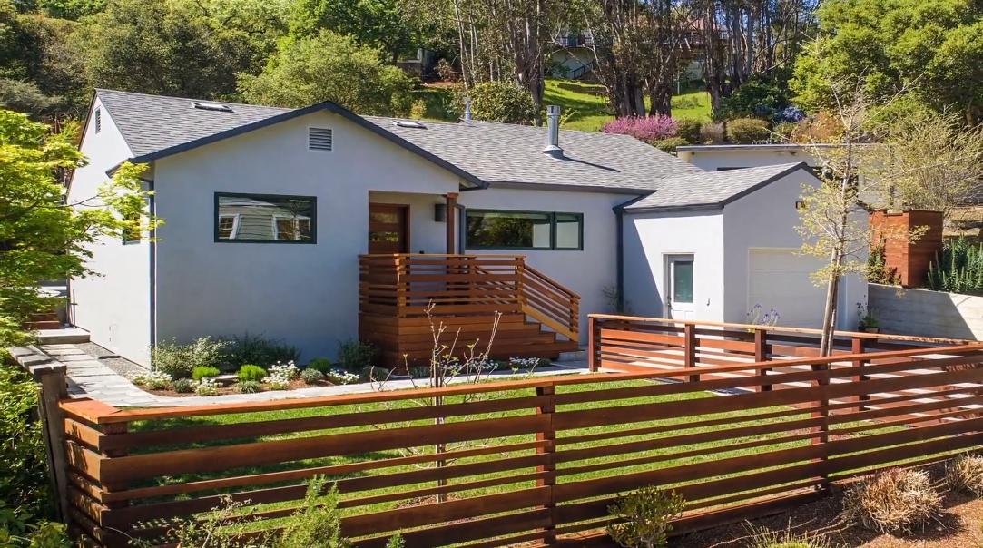 34 Interior Design Photos vs. 55 Durham Rd, San Anselmo, CA Luxury Home Tour