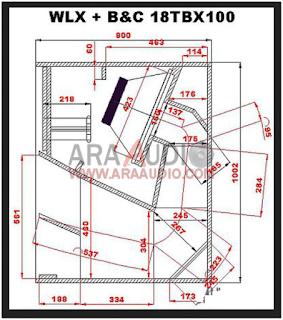 Skema box WLX 18 inch