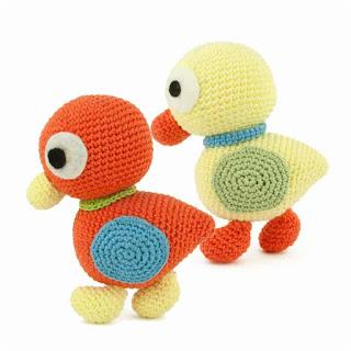 patron amigurumi Patitos sabrina`s crochet