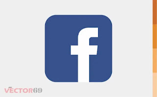 Facebook Icon - Download Vector File AI (Adobe Illustrator)