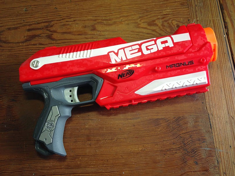 The gun before any mods