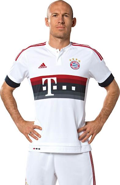 Bayern München 15-16 Away Kit Released - Footy Headlines 41f448d49