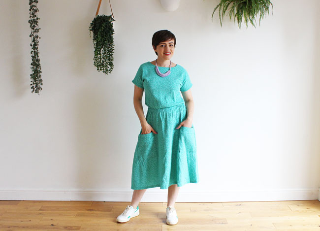 Tilly's Lotta dress - easy sewing pattern from Tilly and the Buttons