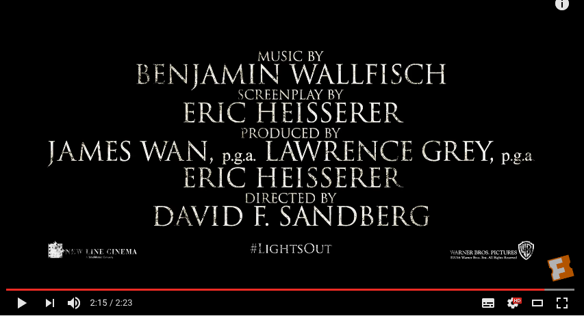 These Trailer Credits Contain The Same Displayed On Movie Poster Above Main Difference Is That It Has Been Written In Font As