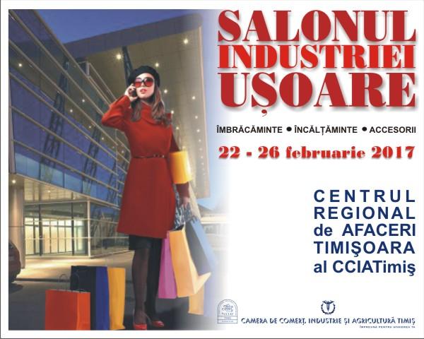 Salonul Industriei Usoare la Timisoara (22 - 26 februarie 2017)