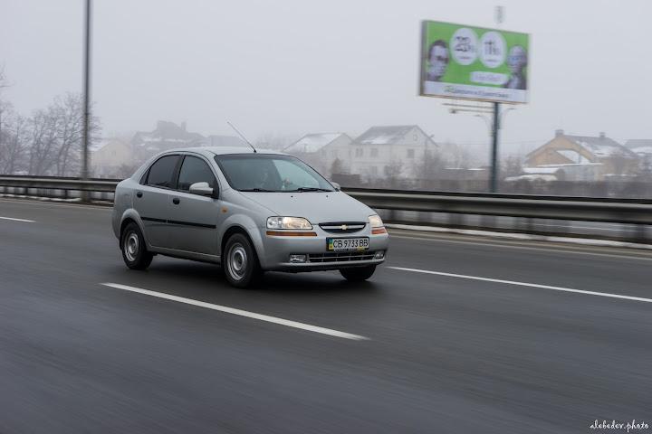 Rolling Chevrolet Aveo mk1