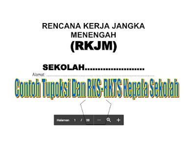Download Contoh Tupoksi Kepala Sekolah Dan Program RKS & RKTS Tahun 2016