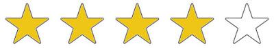 4 von 5 Sterne erhält der Shark Akku-Handstaubsauger