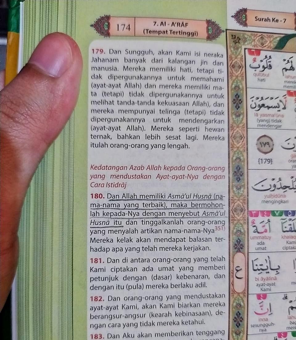 99 Nama Allah (Asmaul Husna) Makna & Kegunaannya