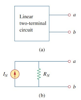 norton's theorem electric circuit analysis