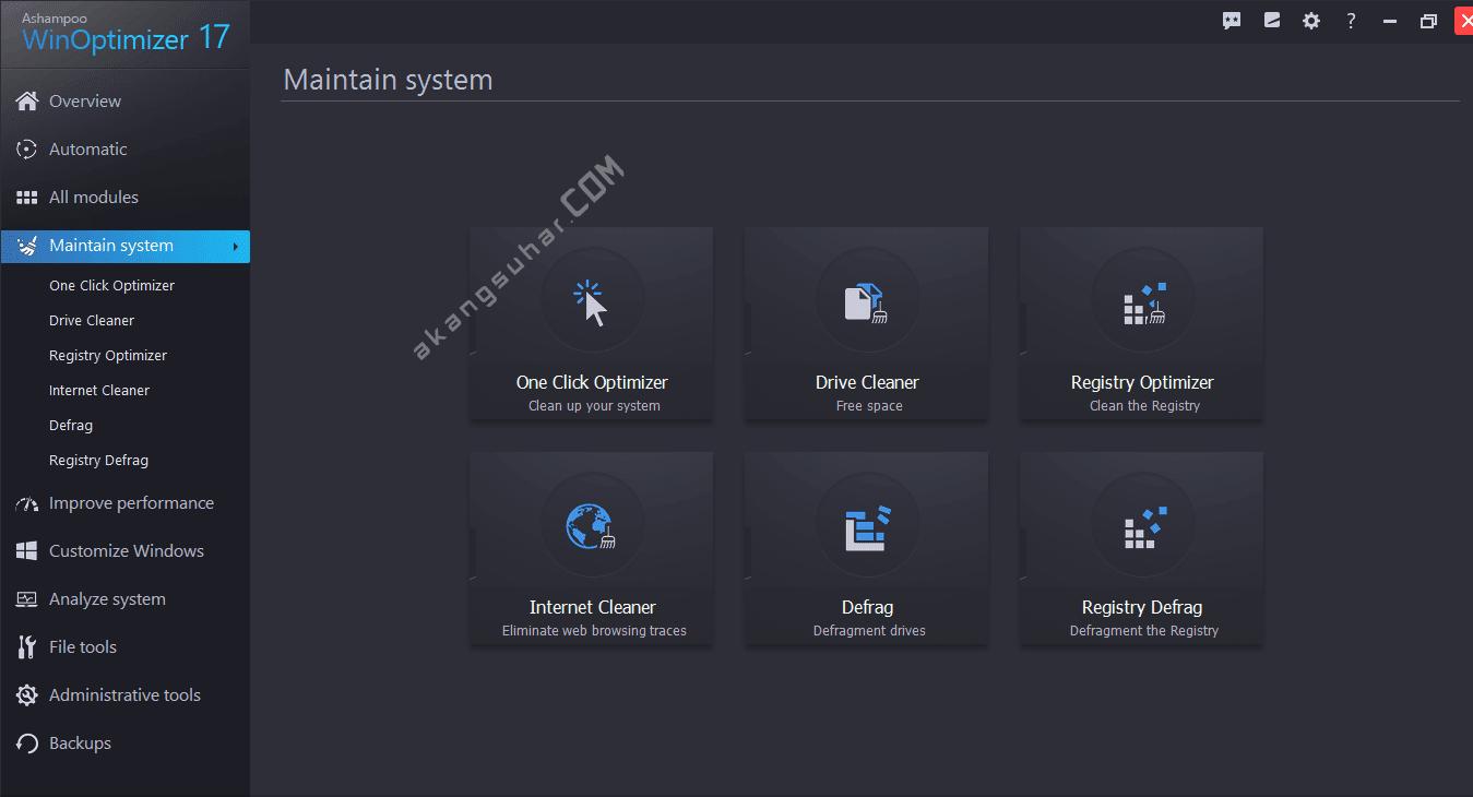 Gratis Download Ashampoo WinOptimizer Full Crack Terbaru