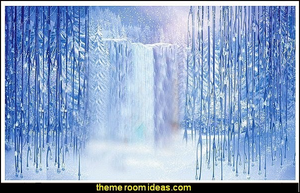frozen themed backdrops Vinyl  Prop Photo Background