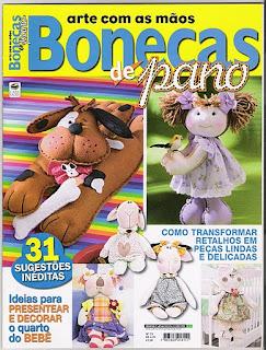 Revista Bonecas de Pano - Promoção do mês