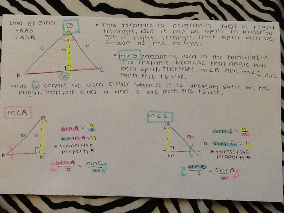 X-Math Origins: BQ#1: Unit P Concepts1 & 4: Law of Sines ...