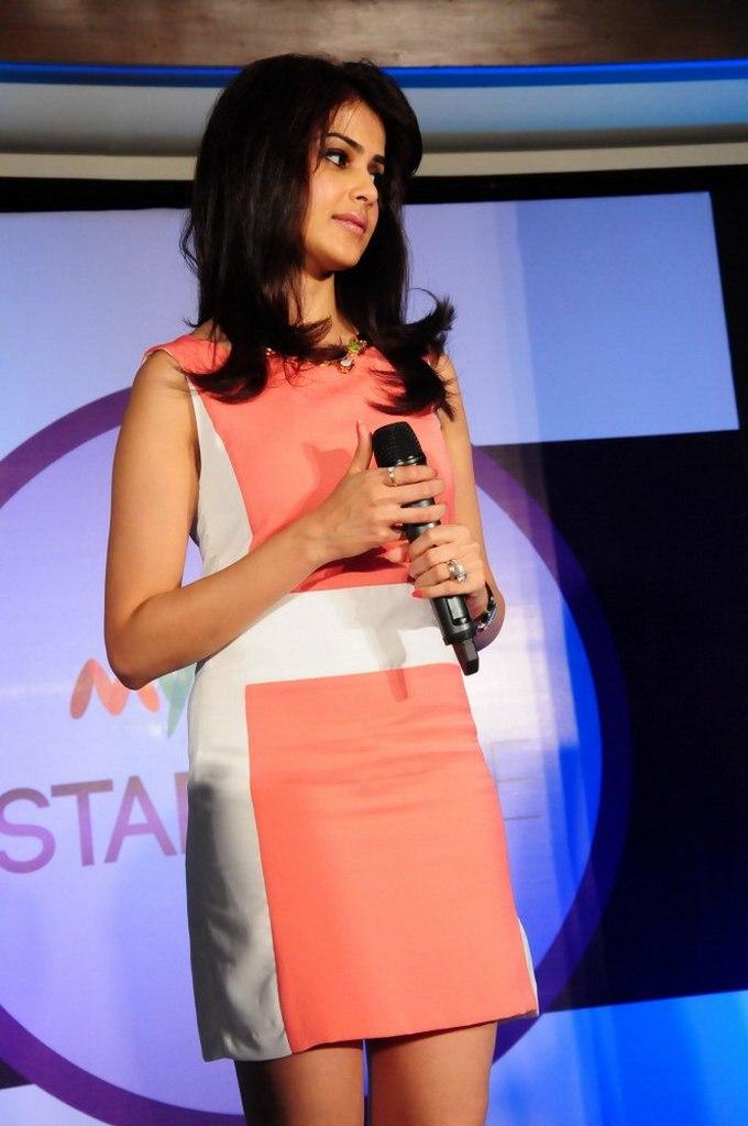 Genelia Stills at Myntra Star N Style Icon Launch - www ...