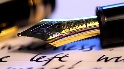 Black pen to write