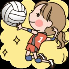 Girls' volleyball club
