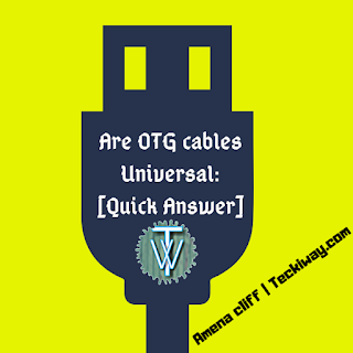 are OTG cables Universal