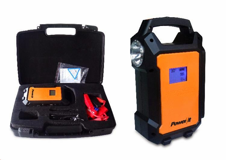 Impecca Power it Portable Powerbank and Jump Starter Kit