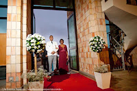 casamento com cerimônia no santuário mãe de deus em porto alegre e recepção no party room com decoração simples delicada e linda por life eventos especiais
