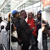 VIDEO:Olamide gets warm welcome in Palermo City, Italy