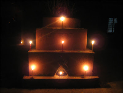 Deepawali - Lights in Mini-temple (Mairo)