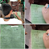Student uses banana leaf as notebook to write down his lessons went viral