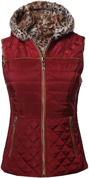 Reversible Faux Fur Vests For Women