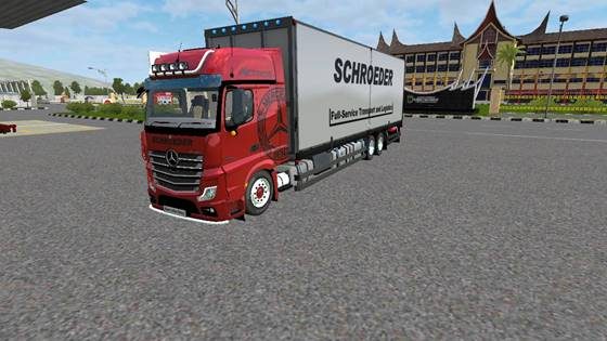 download mod bussid truck mercy actros box terbaru v1